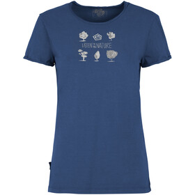 E9 WTS T-Shirt Women royal-blue